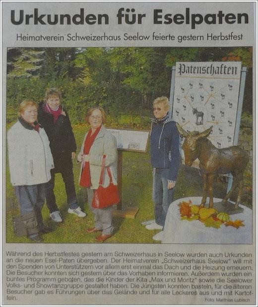 Märkischer Sonntag 14.10.2012