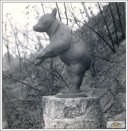 """""""Der Bär"""" von August Gaul"""