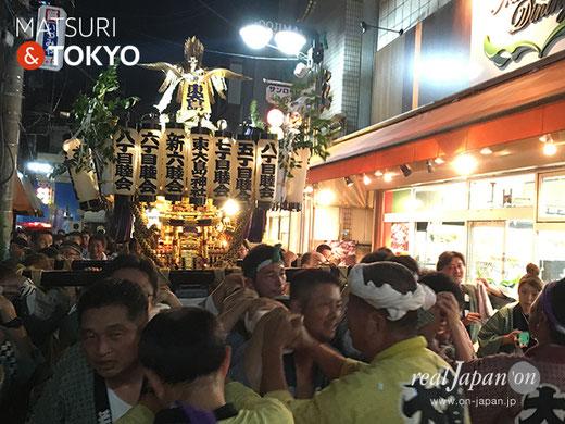 東大島神社例大祭, 2017年8月4日5日6日,, 大島, 江東区,陰祭 , 神輿渡御