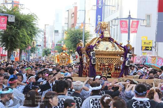 浦和まつり, 平成29年7月23日, みこし渡御パレード, 旧中山道