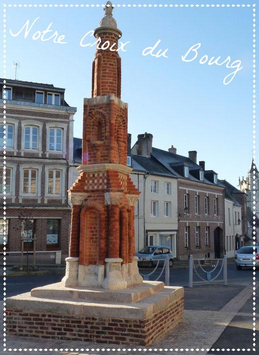 La croix du bourg Crécy-en-ponthieu