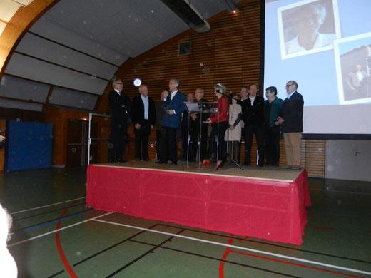 Réception du diplôme du Citoyen d'Honneur par ARAPED