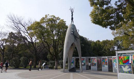 原爆の子の像 設計:川口衞 1958