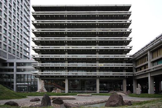 香川県庁舎 設計:丹下健三(1958)
