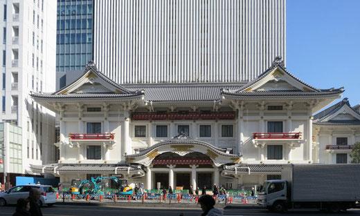 歌舞伎座 設計:三菱地所+隈研吾(2013)