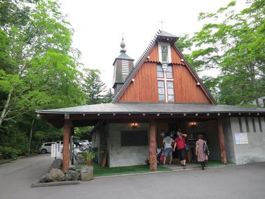 軽井沢聖ポール教会 設計:アントニン・レーモンド 1934(昭和9年)