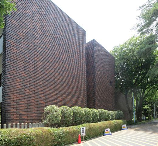 埼玉県立歴史と民俗の博物館 設計:前川國男 1971(昭和46)年