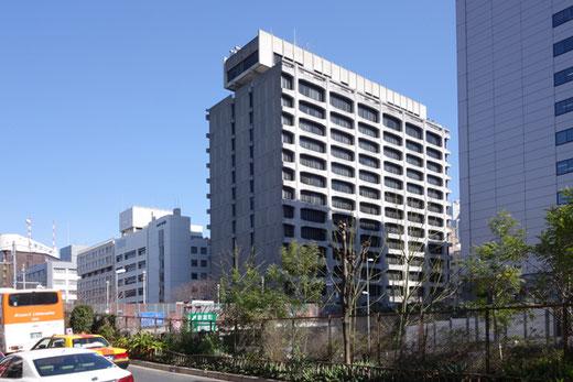 築地電通旧本社ビル 設計:丹下健三 1967(昭和42)年