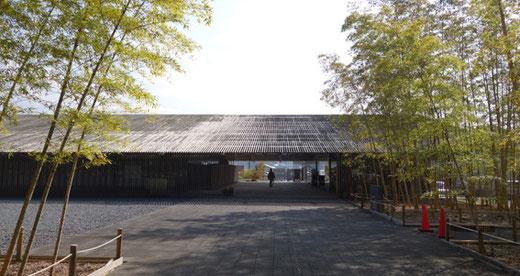 馬頭広重美術館 設計:隈研吾(2000)