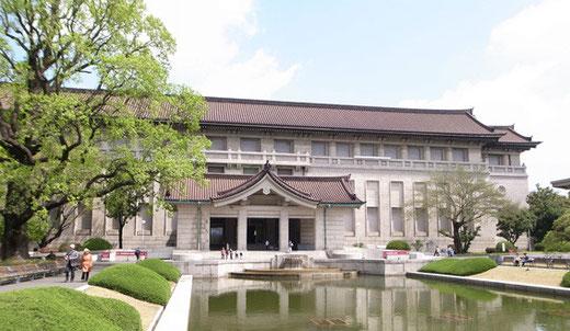 東京国立博物館本館(設計:渡辺仁・昭和12年竣工)