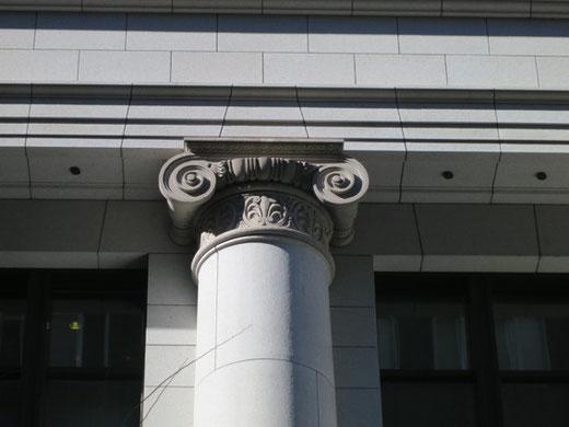 農林中央金庫有楽町ビル(イオニヤ式)設計:渡辺仁、1933(昭和8)