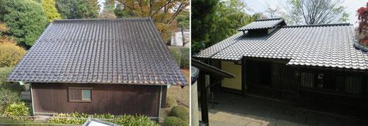 左:前川自邸 右:林芙美子邸