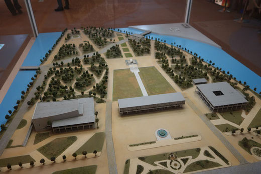 平和記念公園模型