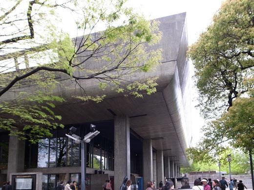東京文化会館 設計:前川国男(1961年)