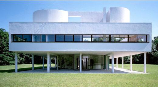 サヴォア邸 設計:ル・コルビュジエ、1929年