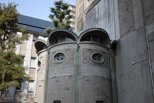 世界平和記念聖堂告解室
