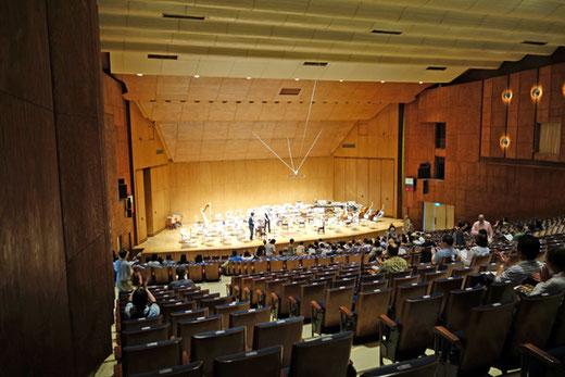 神奈川県音楽堂 設計:前川国男 1954(昭和29)年