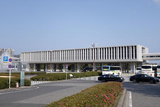 平和記念資料館 設計:丹下健三 1955