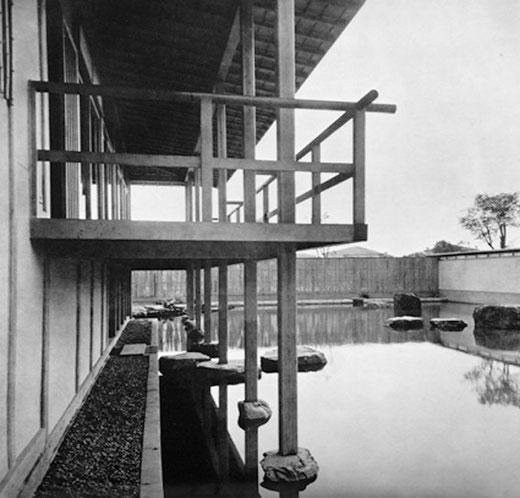 サンパウロビエンナーレ日本館 設計:堀口捨己 現場監理:大江宏(1955)