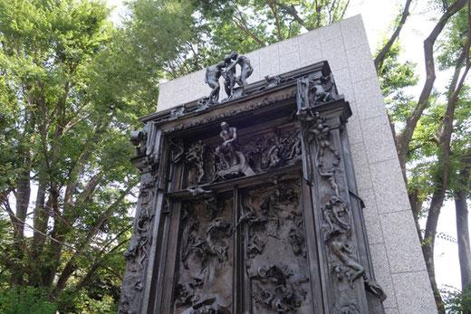 オーギュスト・ロダン「地獄の門」1917年