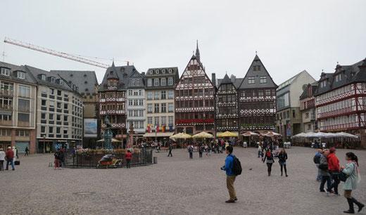 フランクフルトの旧市街