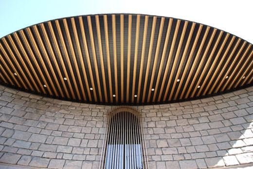 渋谷区立松濤美術館 設計:白井晟一 1980(昭和55)年