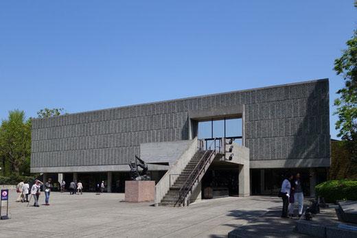 西洋美術館 設計:ル・コルビュジエ 1959年