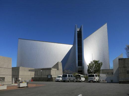 聖マリア大聖堂 設計:丹下健三(1964)