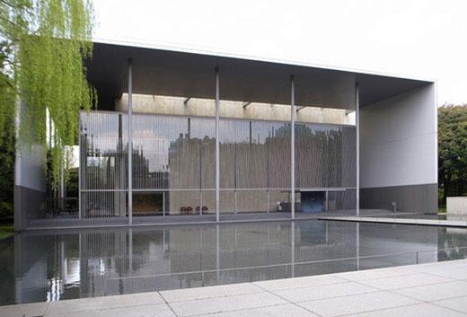 法隆寺宝物館(設計:谷口吉生)1999年