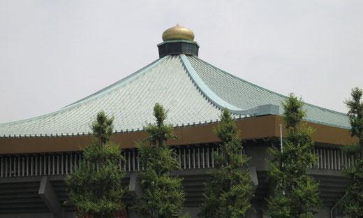 武道館 設計:山田守(1964)