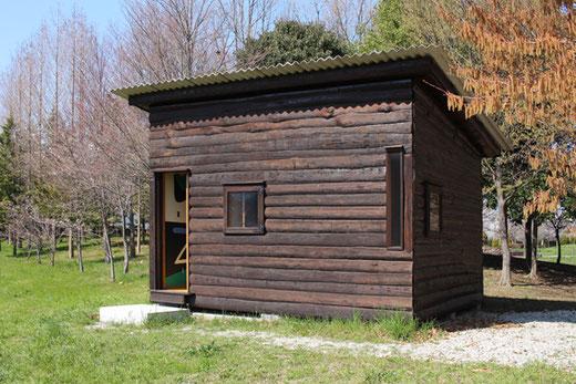 カップマルタンの休暇小屋(レプリカ) 設計:ル・コルビュジエ 1952年