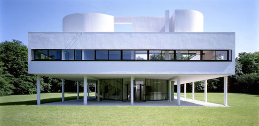 サヴォア邸 設計:ル・コルビュジエ 1931年竣工