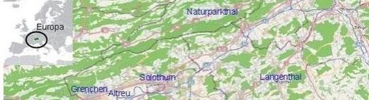 Karten als PDF inkl. Stadtpläne und Wasseramt Detailpläne
