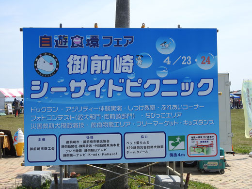 津波シェルターを御前崎で展示体験01