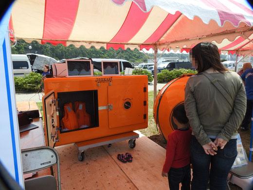 津波シェルターを御前崎で展示体験06