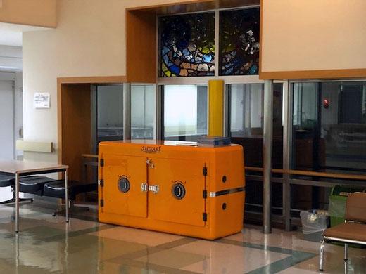 北海道釧路地方の診療所に設置された津波シェルターCL-HIKARi002