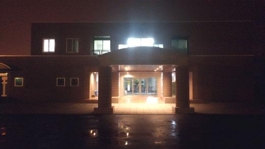 北海道釧路地方の診療所に設置された津波シェルターCL-HIKARi001