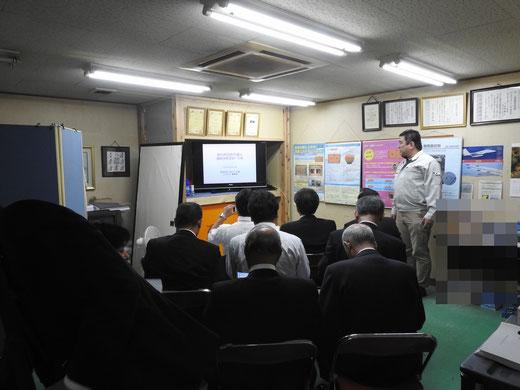 愛知県田原市議会 津波シェルター研修03