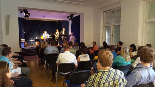 Konzert mit der Gruppe Liedanei im Logenhaus am 29. Juni 2016