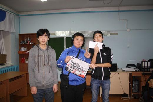 Победителем соревнования по Counter Strike стала команда Virtus PRO: Аргунов Андрей, Бурнашев Илья, Пономарев Сережа. Денежное вознаграждение. Аргунов Андрей стал также победителем по скоропечатанию, а Бурнашев Илья стал вторым.
