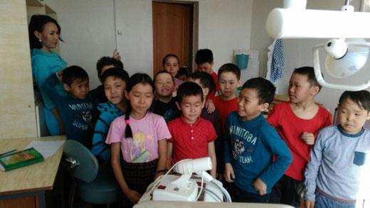 Неделя начальных классов. Посещение предприятий села
