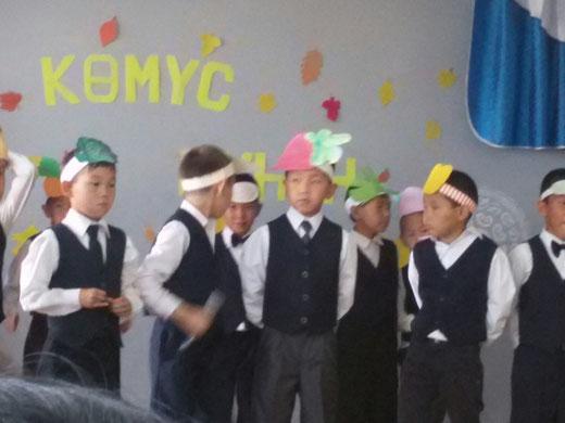 Осенний бал начальных классов