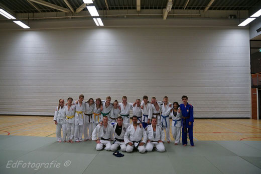 "Das ""internationale"" Judoteam"