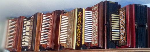 Мои любимые роялки. Гармонь Самойлова - самая правая.