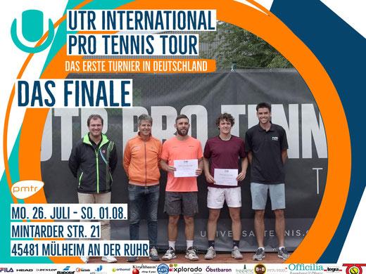 Finals, Finale UTR,Utr germany, UTR International Pro Tennis Tour, ATP Turniere,Tennis,Tennisturnier,internationale Tennisturniere,PMTR,Tennisakademie,turnierbetreuung,tennniskarriere,Mülheim an der Ruhr,Tennis in Deutschland