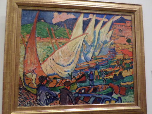 Fishing boats d'André Derain