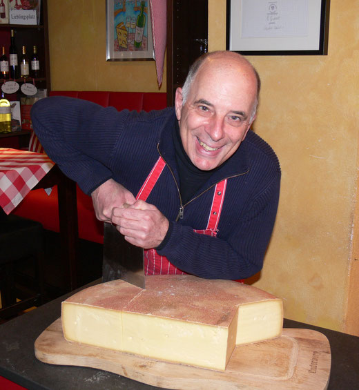 Cheese Sommelier and Wine Guide Michael Bode.