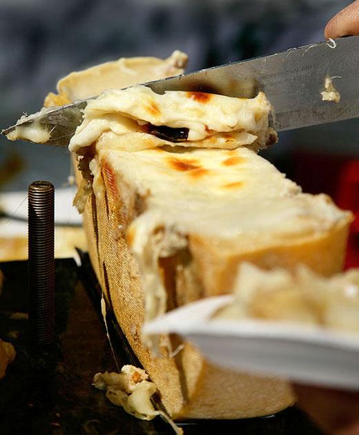 Original Schweizer Raclette vom Laib