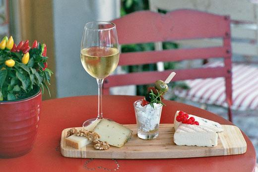 Käse und Wein: Was kann schöner sein?