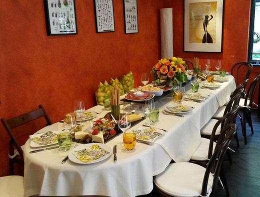 Gourmet Tafel in der GenussWerkstatt